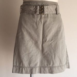 Loft skirt size 10 Tan